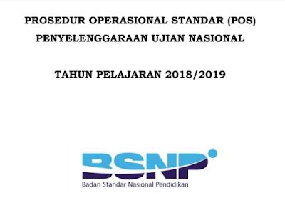 POS UN Tahun Pelajaran 2018/ 2019