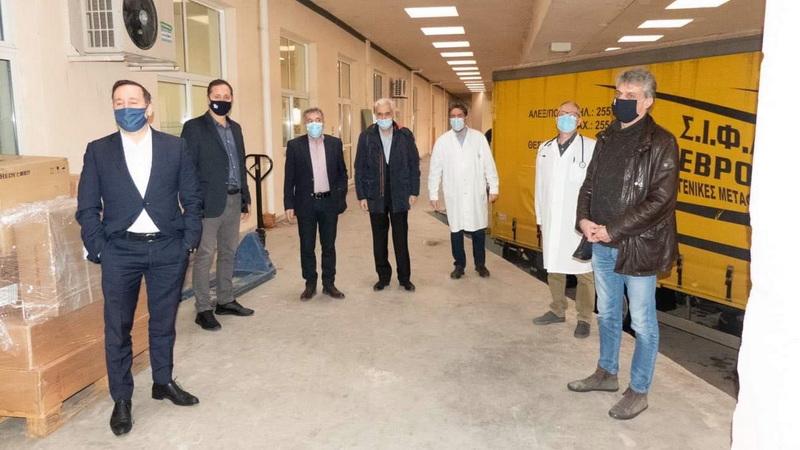 Δωρεά ιατρικού εξοπλισμού από την ΠΕΔ ΑΜ-Θ στο Νοσοκομείο Αλεξανδρούπολης