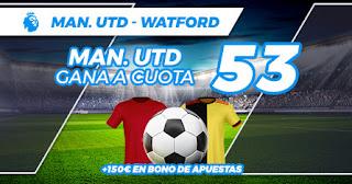 paston megacuota manchester united vs watford 23 febrero 2020