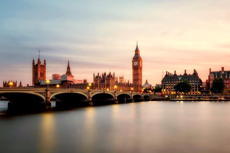 倫敦泰晤士河與大笨鐘
