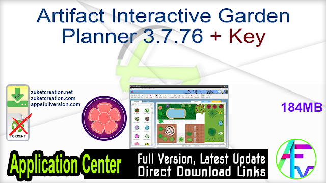 Artifact Interactive Garden Planner 3.7.76 + Key
