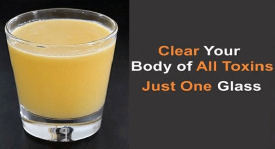 Clear Your Body of All kinds of Toxins With One Glass of this Drink