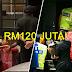 Hampir RM120 juta wang tunai dirampas!