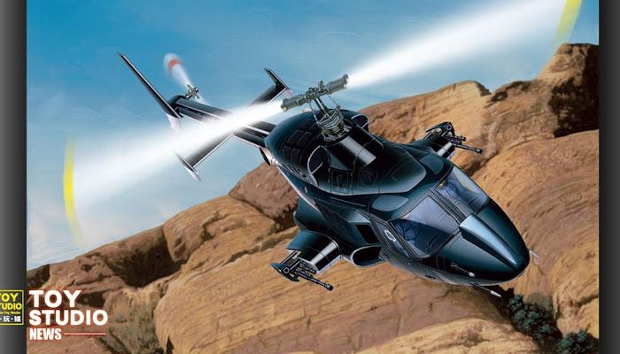 [模型手辦] 史上最強超音速戰鬥直升機!《飛狼》
