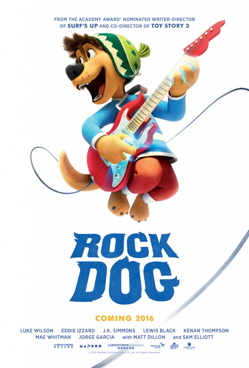 Rock Dog [2016] [DVD9] [NTSC] [Latino]