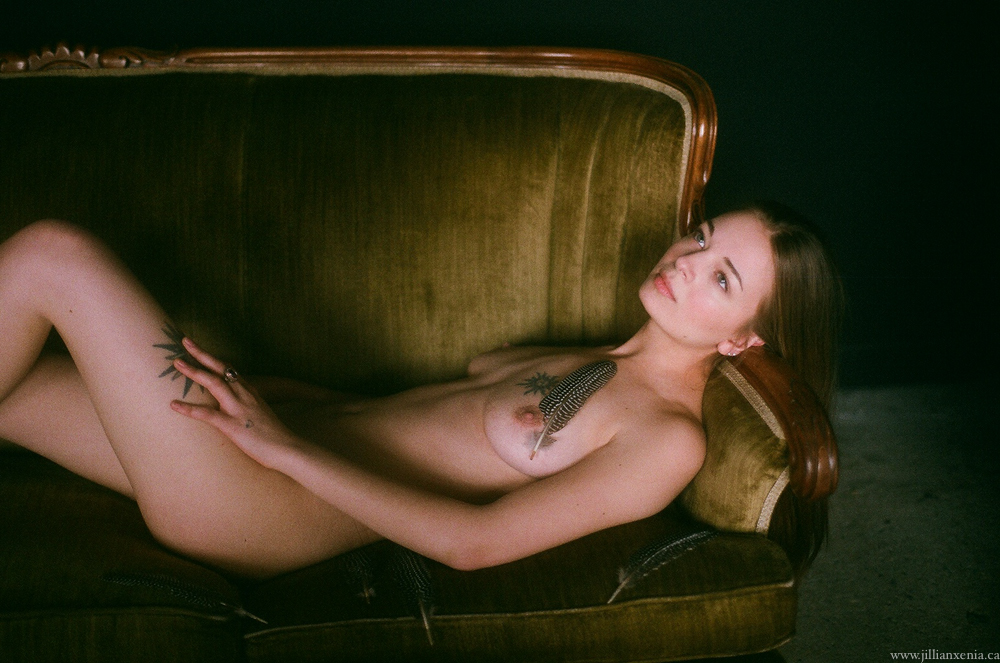 35 mm Film Photography nude, by Jillian xenia