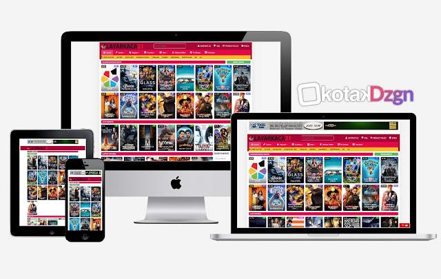 LK21 Clone Free Blogger Template