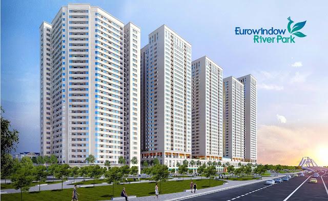 Phân khu chung cư EuroWindow mặt đường đại lộ trường Sa