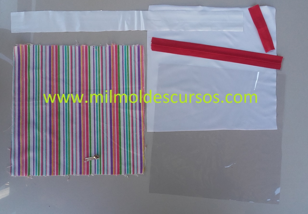 MATERIALES PARA FABRICAR LA CARTUCHERA