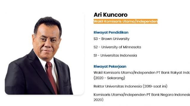 Usul Rektor Ari Mundur, Legislator Alumni UI Ajak Anak UI Gugat PP serta Lapor Ombudsman