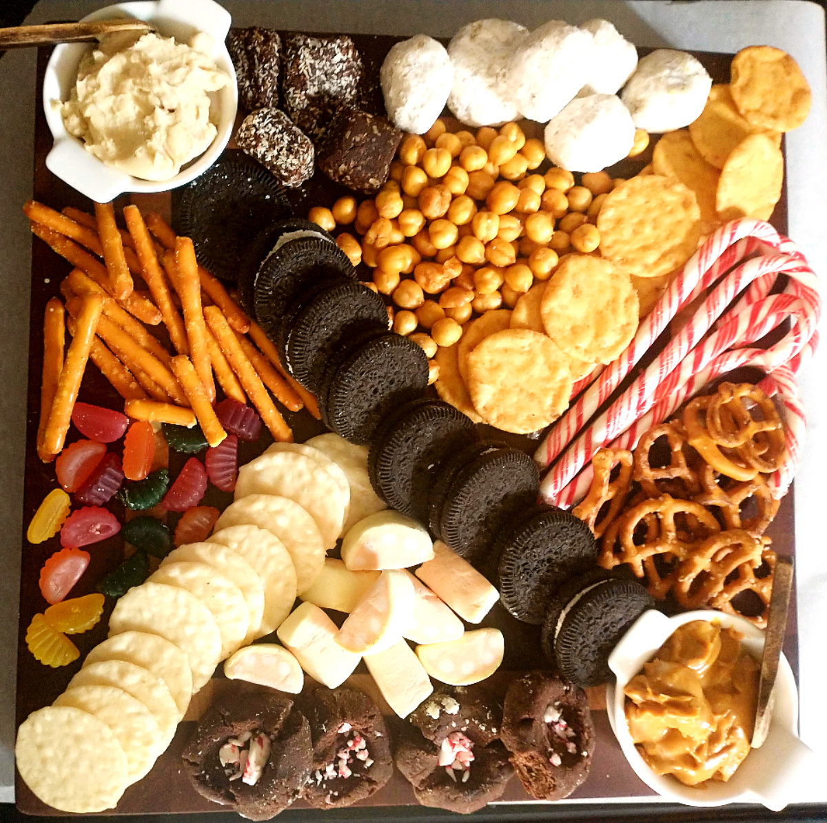 allergy friendly snackboard