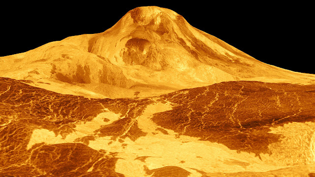 Trace gas phosphine points to volcanic activity on Venus