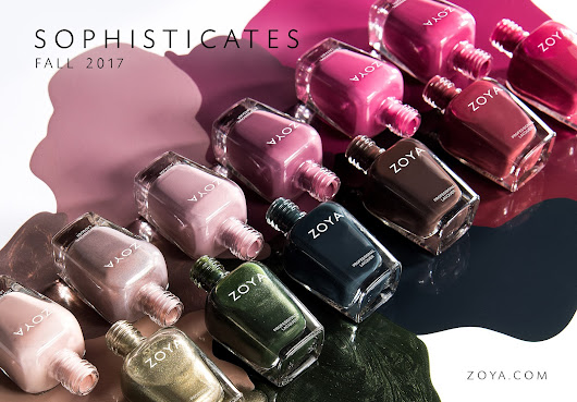 Zoya Sophisticates Fall 2017 - Bee Polished