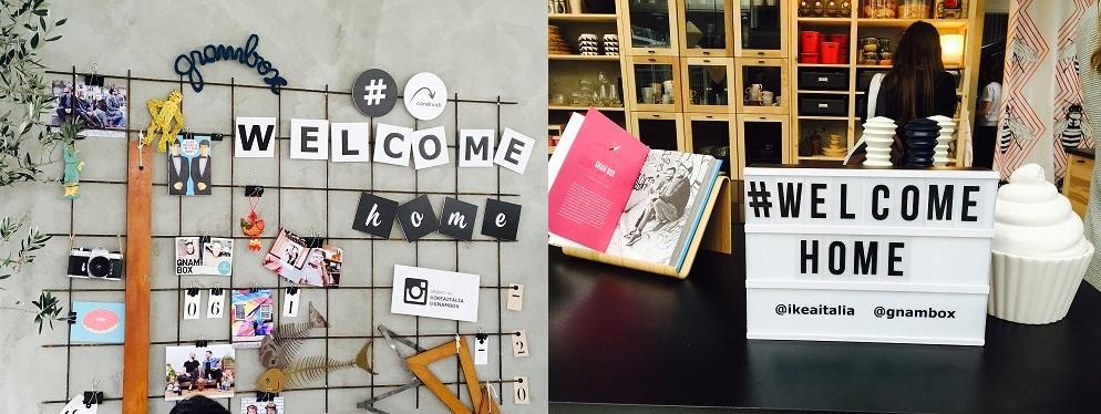 MDW: #WelcomeHome la casa pensata da Ikea + Gnambox