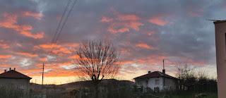A lovely sunset again. Finally