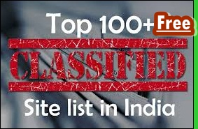 Top 100 + Free Classified Submission Sites List In India 2020