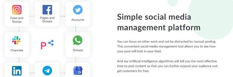 Postoplan - Simple Social Media Management Platform