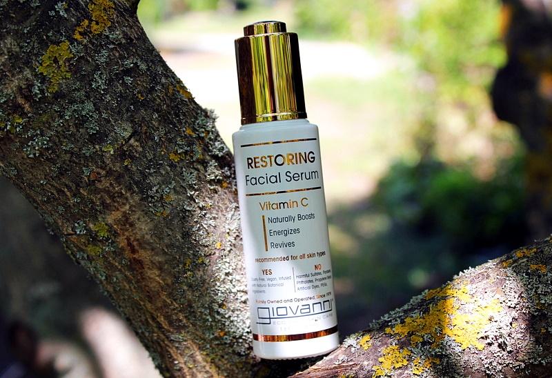 Giovanni Restoring Facial Serum Vitamin C Восстанавливающая сыворотка для лица с витамином С / обзор, отзывы