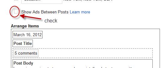 Adsense Ads to Blogger Website