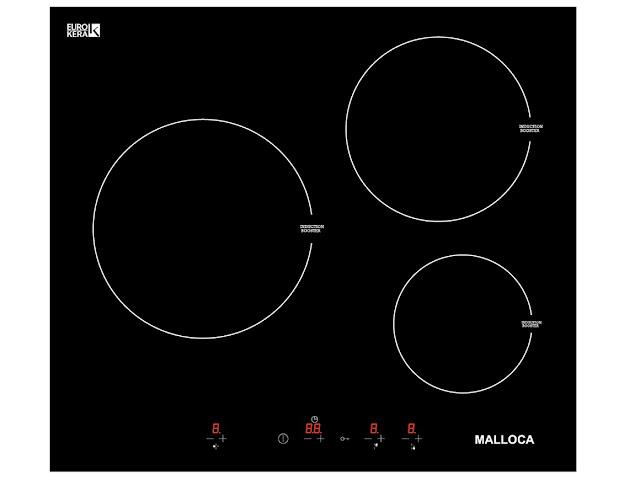 Bếp từ đôi Malloca MH 03I