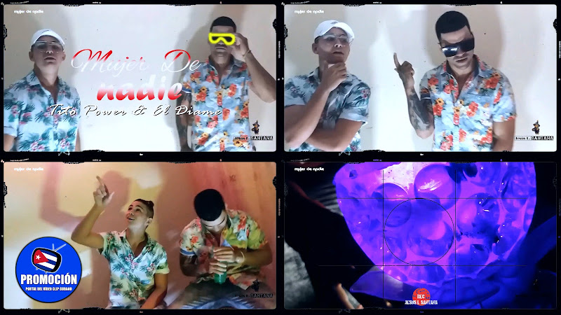 Tito Power & El Diamen - ¨Mujer de nadie¨ - Videoclip - Director: Jesús L. Santana. Portal Del Vídeo Clip Cubano. Música cubana. Cuba.