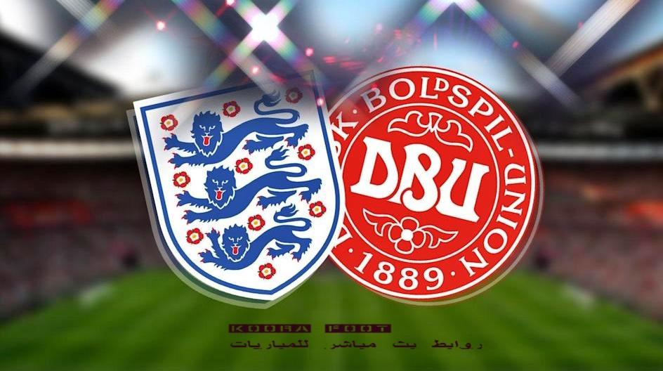 مباراة إنجلترا والدانمارك في بطولة يورو 2020