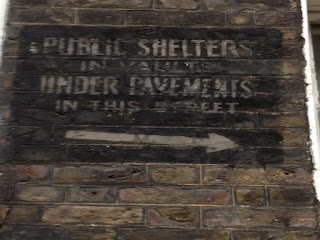 Shelter sign in Westminster