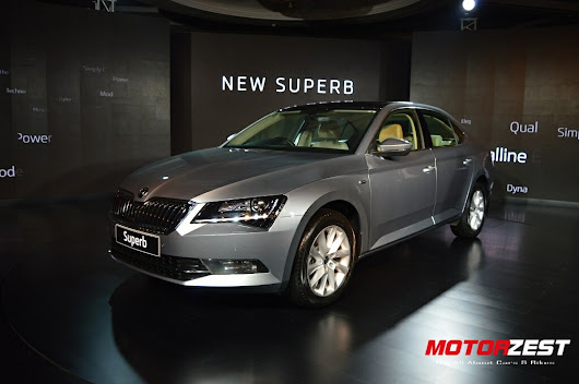 Skoda Launches The All New Superb In India At INR 22.68 Lacs