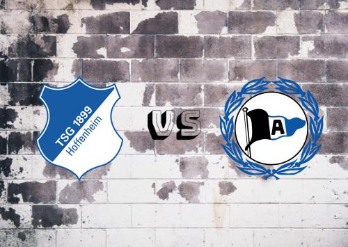 Hoffenheim vs Arminia Bielefeld  Resumen