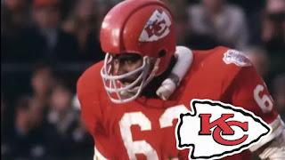 Kansas city Chiefs linebacker, willie Lanier