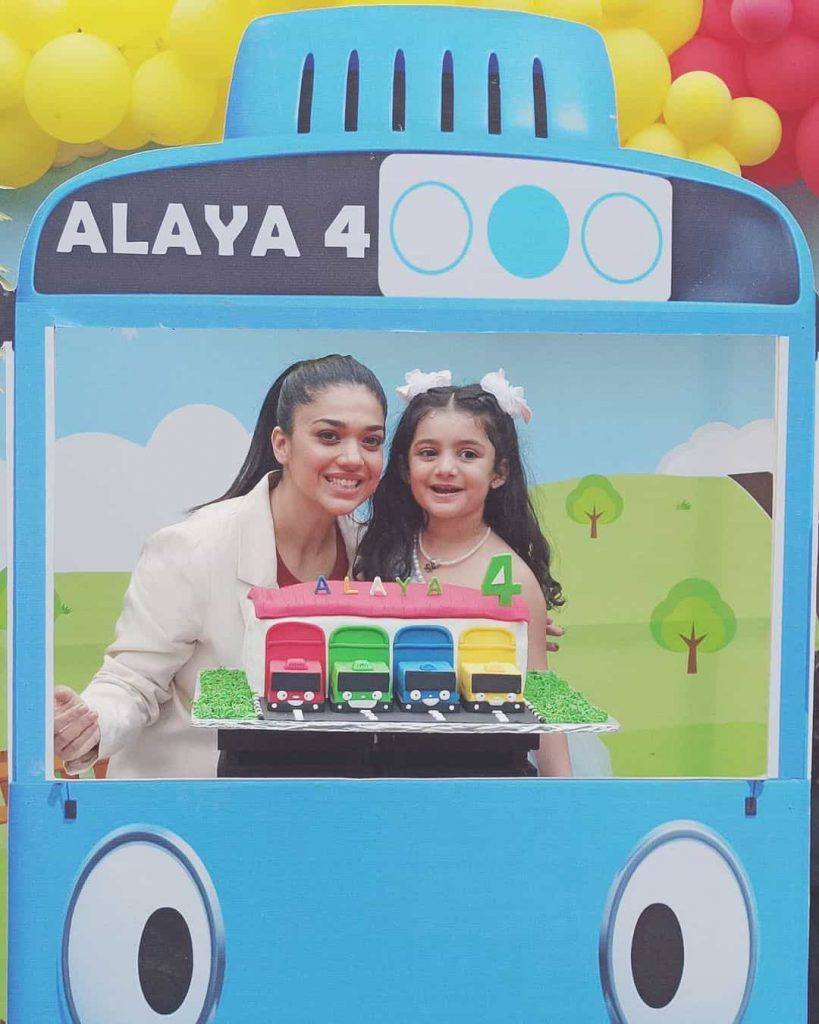 Alaya Jafri 4th Birthday