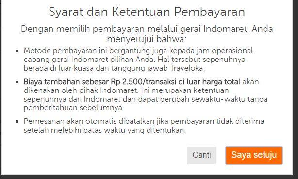 Bayar Tiket Pesawat Traveloka Di Indomaret Share Panduan
