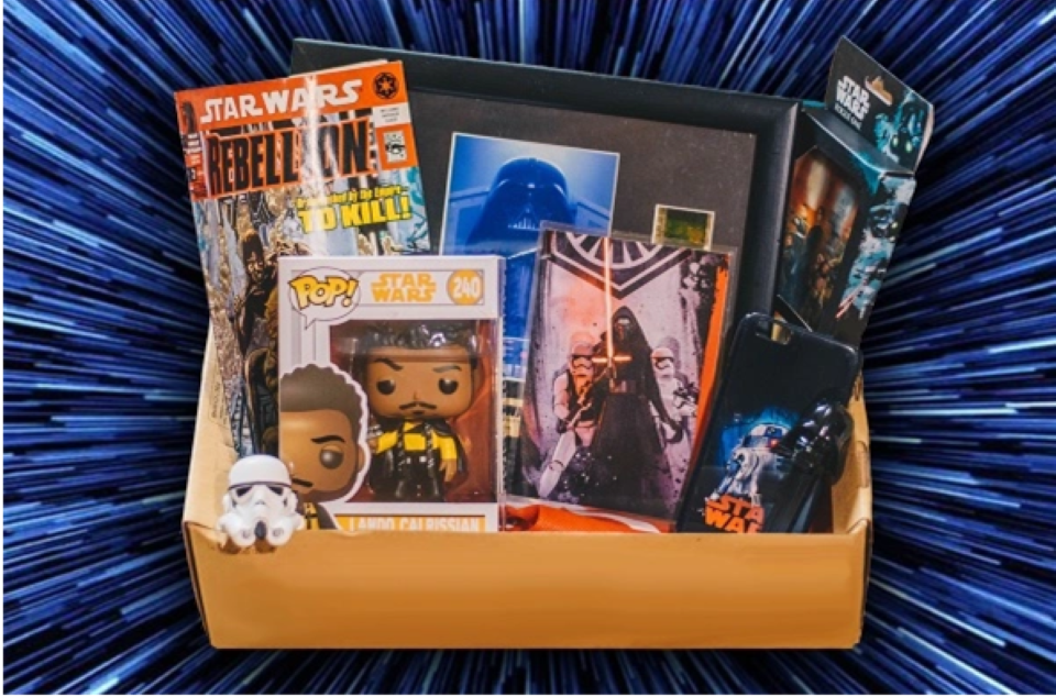 Perfect Gift Idea Star Wars subscription box