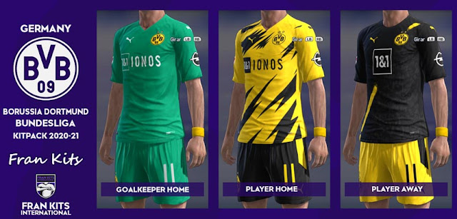 Pes 2013 Borussia Dortmund Kitpack 2020 21 Kazemario Evolution