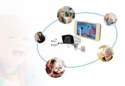 Camera IP Ebitcam nhà cung cấp dịch vụ không gian thông minh hàng đầu