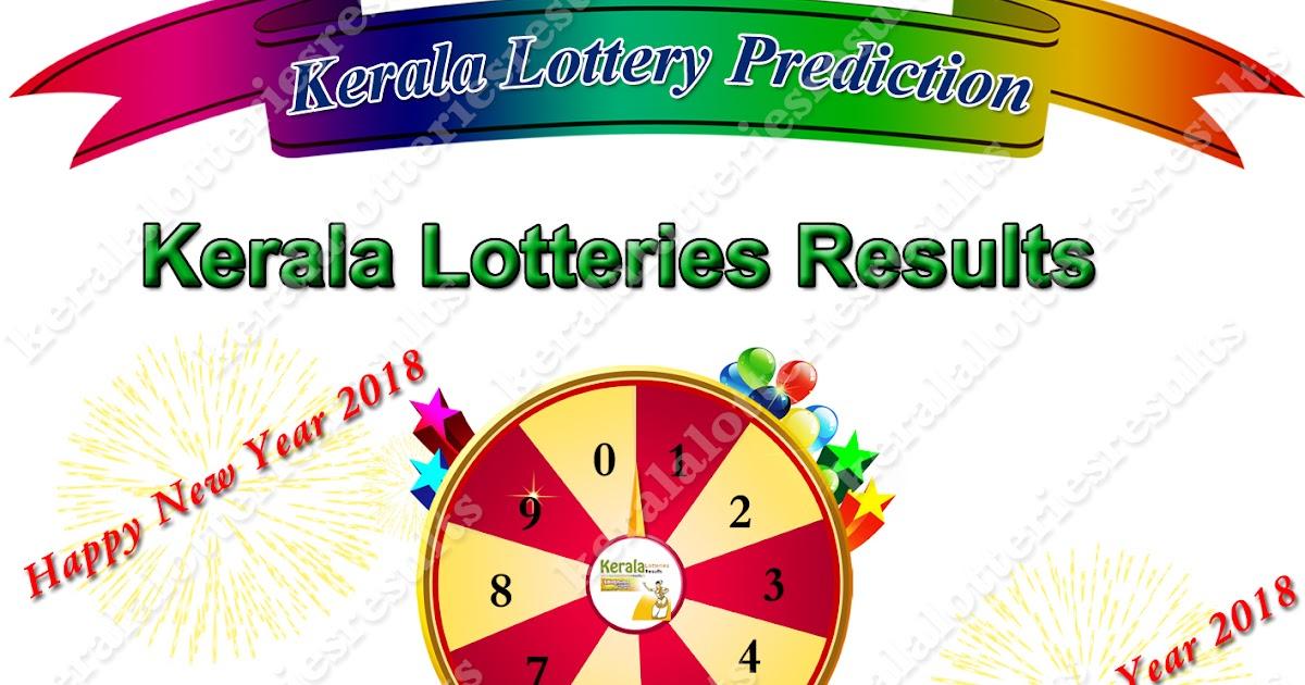 Kerala Lottery Tomorrow Guessing Number 01-01-2018 Win Win W