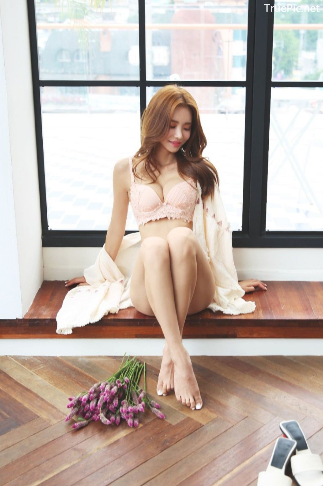 Image-Korean-Fashion Model-Shin-Eun-Ji-Various-Lingerie-Set-Collection-TruePic.net- Picture-4