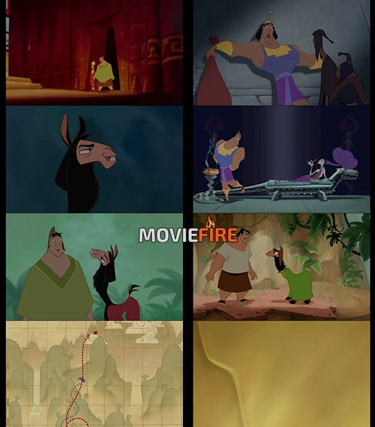 The Emperor's New Groove (2000) 1080p