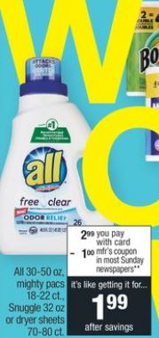 All Mighty Pacs CVS Coupon Deal $0.25 1-5-1-11