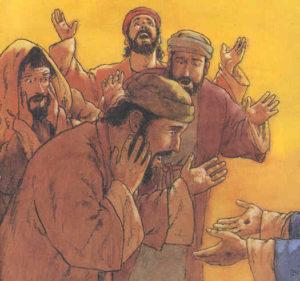 Gesù si presenta ai suoi discepoli