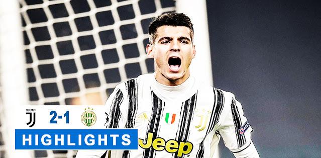 Juventus vs Ferencváros – Highlights