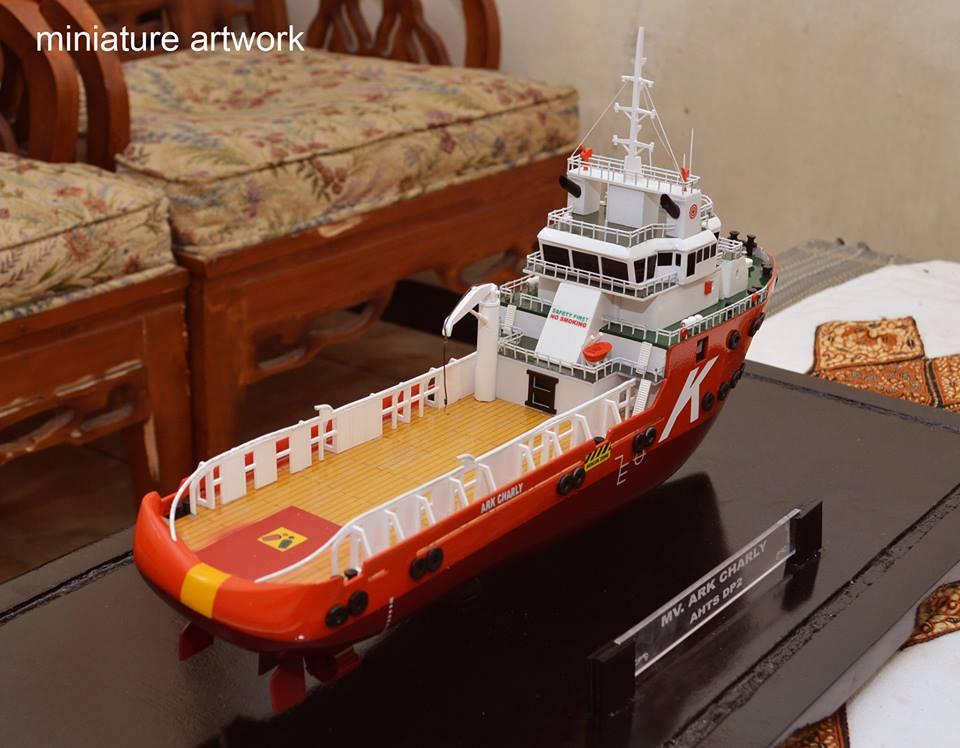 Miniatur Kapal Cv Rumpun Art Work Temanggung Jawa Tengah