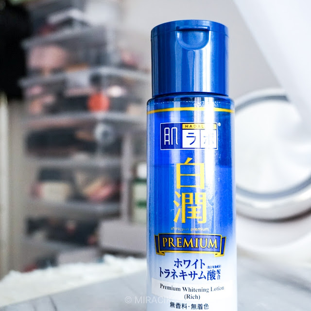 Review Hada Labo Premium Whitening Solution