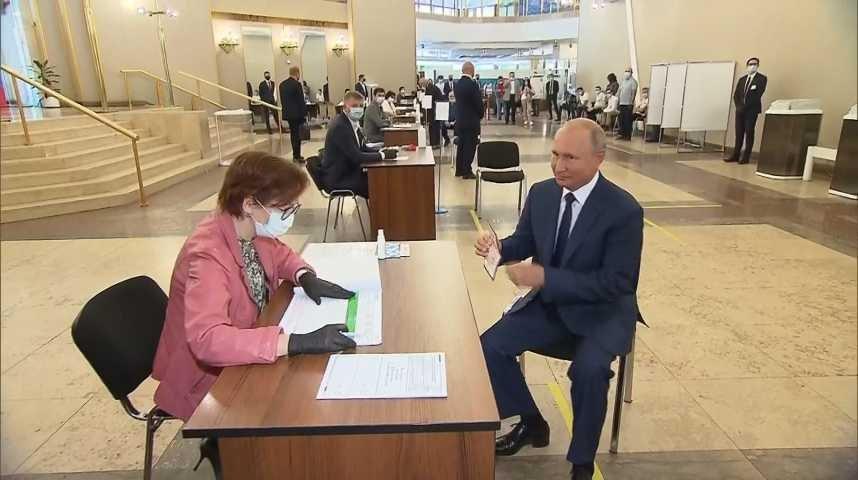 Réforme de la constitution russe: Vladimir Poutine peut désormais rester au pouvoir jusqu'en 2036