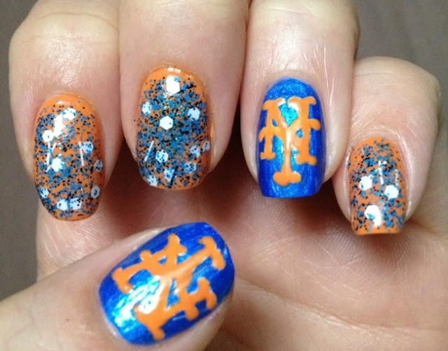 Meet the Mets...On My Nails