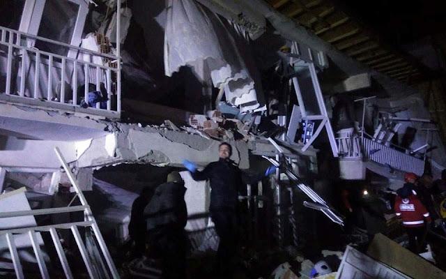 Σεισμός 6,8 Ρίχτερ στην ανατολική Τουρκία