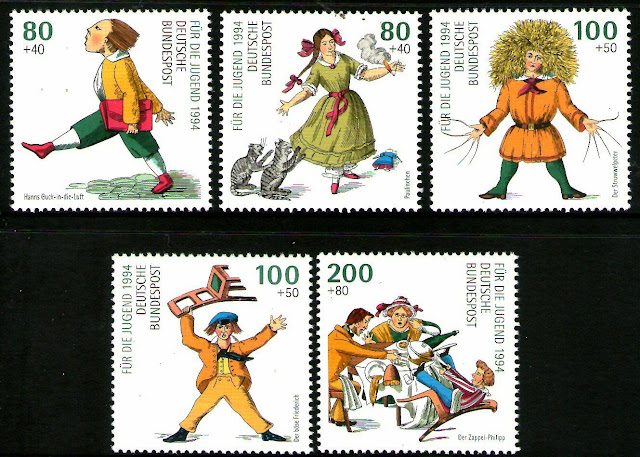 Germany 1994 Heinrich Hoffmann Characters set of 5