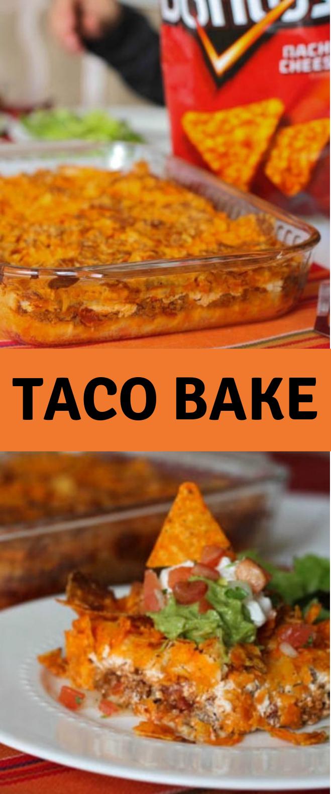 TACO BAKE #FamilyDinner #Taco