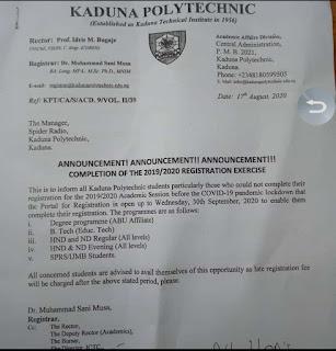 Kadpoly registration portal