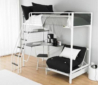 Desain kamar tidur multifungsi
